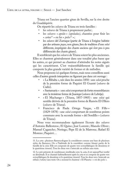 L'œil de la letra - Soleá p. 24