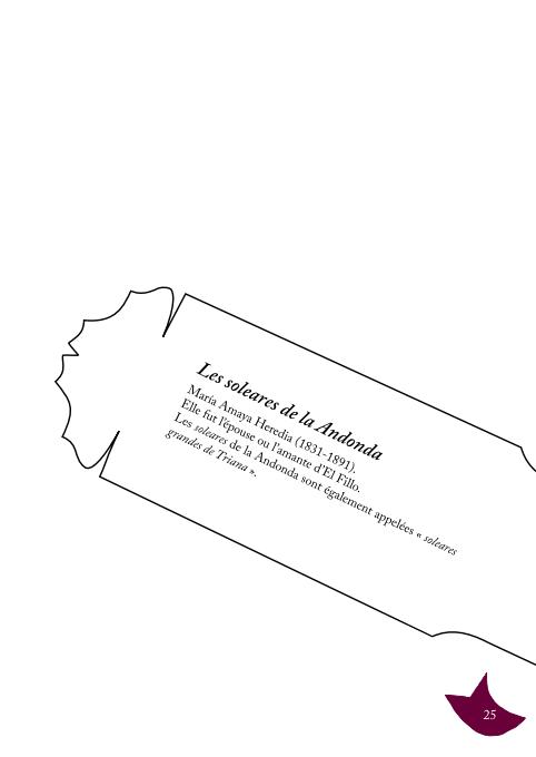 «L'œil de la letra - Soleá» p. 25