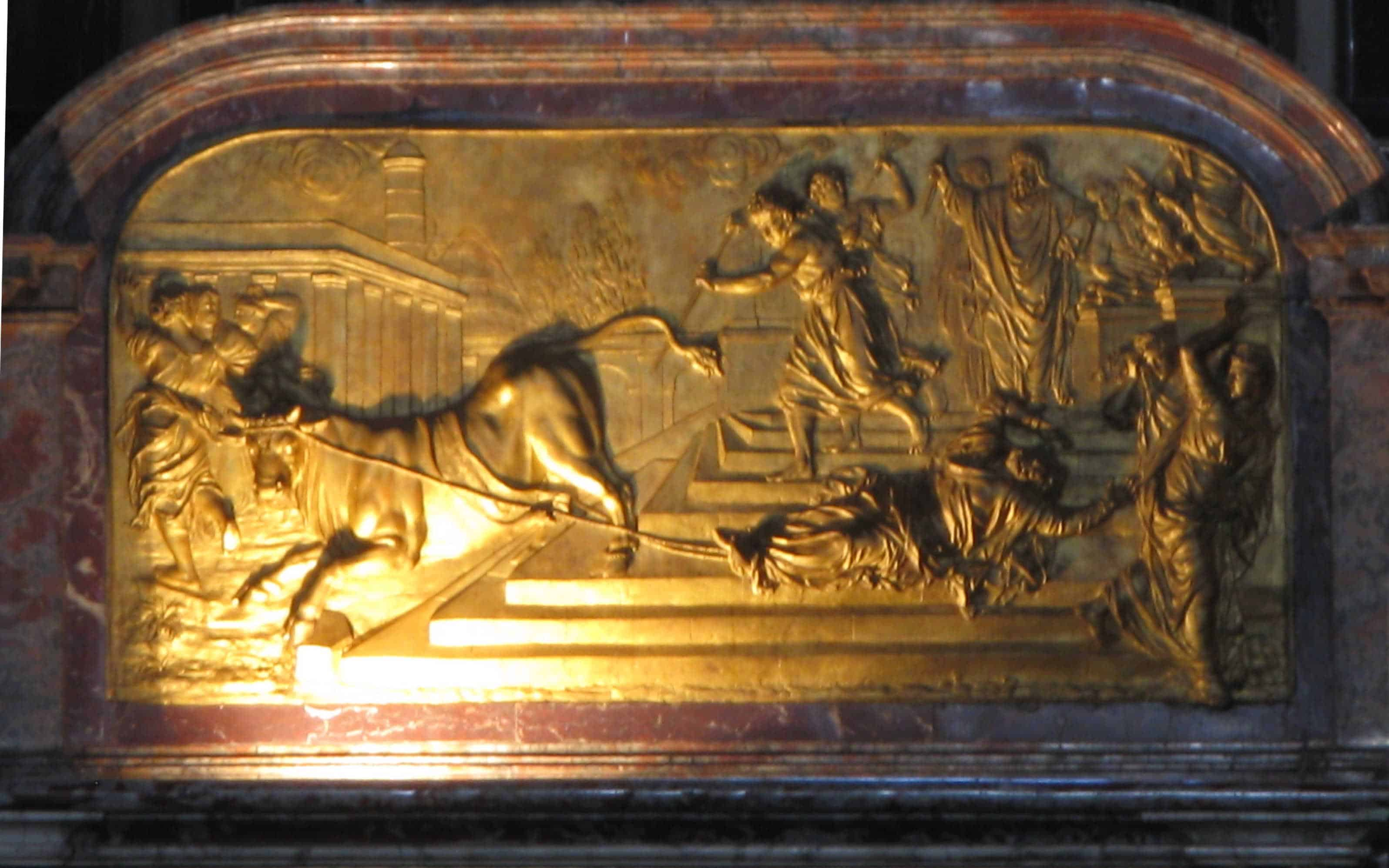 Martyre de Saint Saturnin